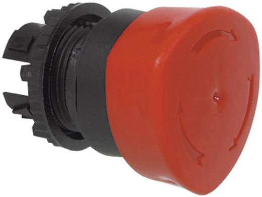 Pilztaster Frontring Kunststoff, Schwarz Rot Drehentriegelung BACO L22ED01B 1 St.