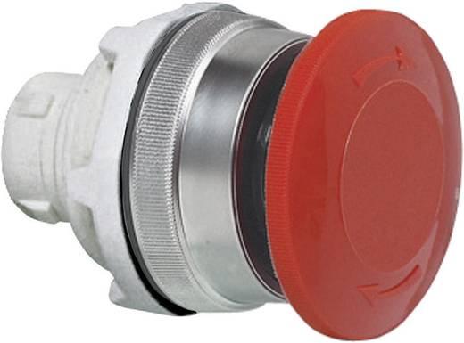 Pilztaster Frontring Kunststoff, verchromt Rot Drehentriegelung BACO T16ED01 1 St.