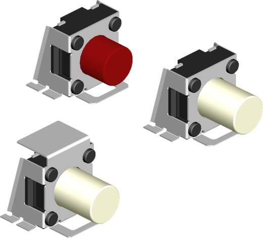 Drucktaster 5 V/DC 0.0015 A 1 x Aus/(Ein) Diptronics TA3-1R3K-V-T/R tastend 550 St.