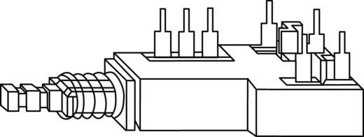 Netzschalter, Druckschalter 250 V/AC 2.5 A 2 x Aus/Ein Potentiometer Service GmbH TYP2 rastend 1 St.