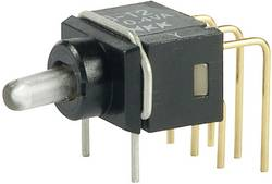 Interrupteur à levier 1 x On/Off/On NKK Switches G13AH 28 V DC/AC 0.1 A permanent/0/permanent 1 pc(s)