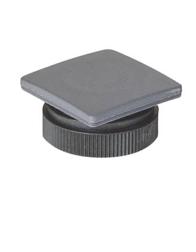 Blindverschluss quadratisch Schiefer-Grau RAFI 5.05.800.065/0000 10 St.