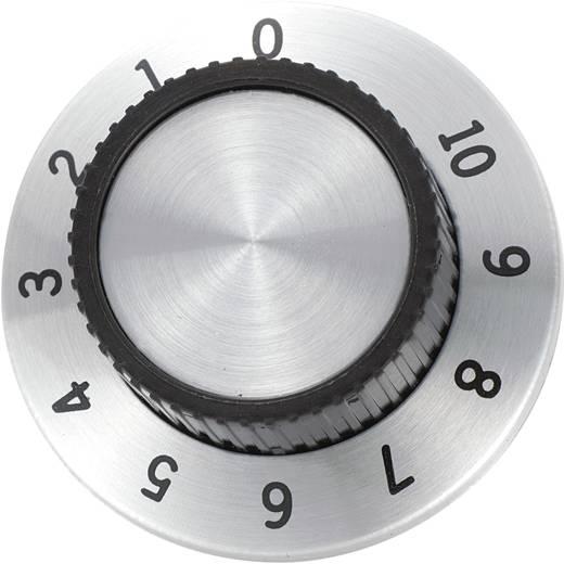 Drehknopf mit Skala Aluminium (Ø x H) 36.8 mm x 14.8 mm RN-114A 1 St.