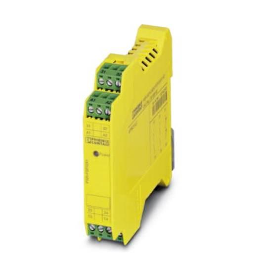 Sicherheitsrelais 1 St. PSR-SCP- 24DC/FSP/2X1/1X2 Phoenix Contact Betriebsspannung: 24 V/DC 2 Schließer (B x H x T) 17.5