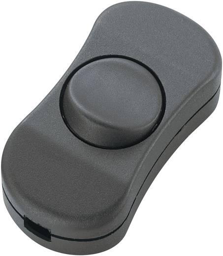 Schnurschalter Schwarz 1 x Aus/Ein 3 A SCI R13-901 1 St.
