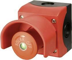 Nouzové tlačítko s ochranným límcem Eaton 150644, 230 V/AC, 6 A, šroubovací, červená