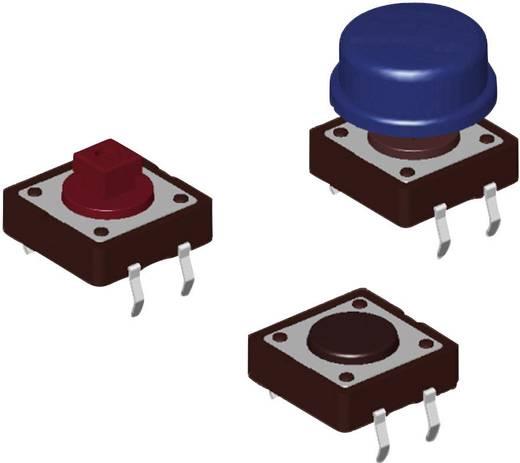 Diptronics DTS-24R-V Drucktaster 12 V/DC 0.05 A 1 x Aus/(Ein) tastend 500 St.
