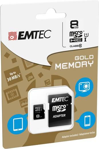 microSDHC-Karte 8 GB Emtec Gold Class 10, UHS-I
