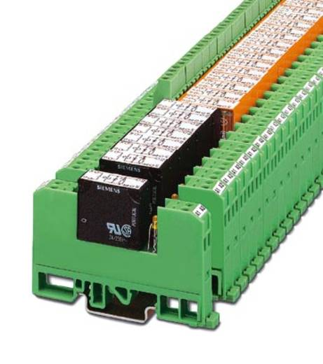 Relaisbaustein 10 St. Phoenix Contact EMG 10-REL/KSR-G 24/21-LCU Nennspannung: 24 V/DC Schaltstrom (max.): 6 A 1 Wechsle