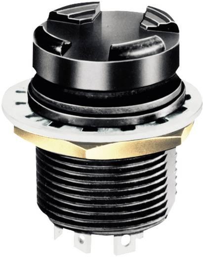 4Wege-Taster 28 V/DC Knopf Lötöse IP68 OTTO T5-CH2222 1 St.