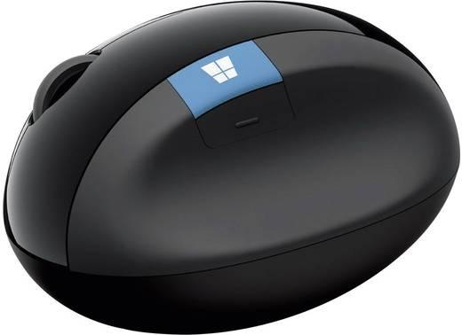 Funk-Maus Optisch Microsoft Sculpt Ergonomic Mouse Ergonomisch Schwarz