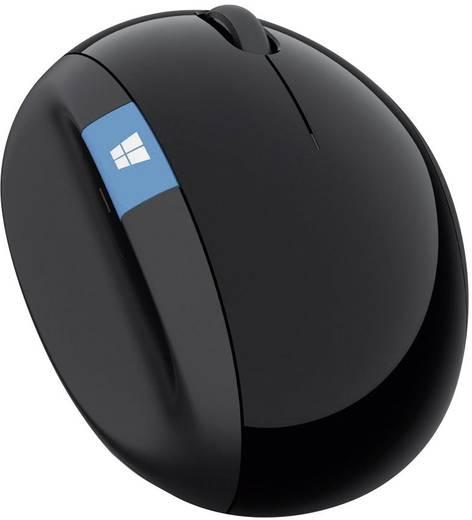Funk-Tastatur,- Maus-Set Microsoft Sculpt Ergonomic Desktop Ergonomisch Schwarz