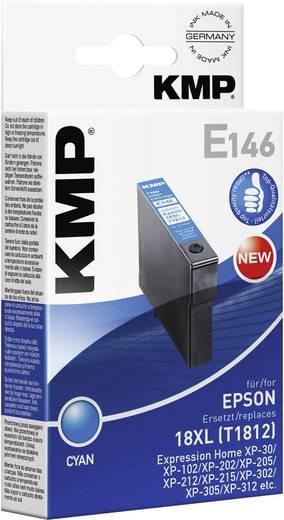 KMP Tintenpatrone E146 Cyan 1622,0003