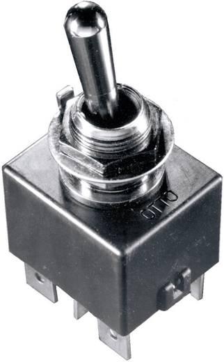 Kippschalter 28 V/DC 16 A 2 x Ein/Aus/Ein OTTO T7-211F5 IP68 rastend/0/rastend 1 St.