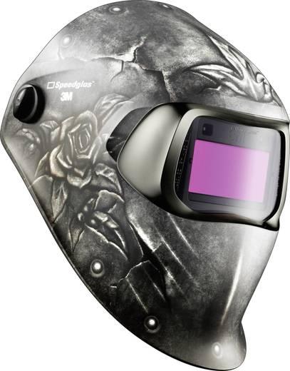 Schweißerschutzhelm SpeedGlas 100V Steel Rose H751820 EN 379, EN 166, EN 175, EN 169