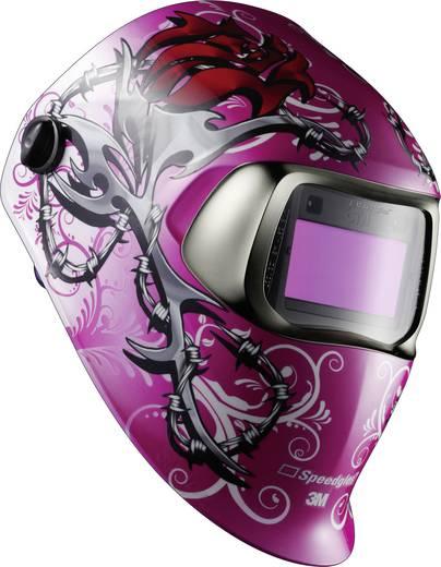 Schweißerschutzhelm SpeedGlas 100V Wild'n'Pink H752020 EN 379, EN 166, EN 175, EN 169
