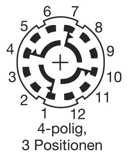 Unterspannungsauslöser 250 V/AC 0.15 A Schaltpositionen 3 3 x 30 ° Lorlin CK-1032 1 St.