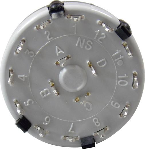 Lorlin Stufenschalter 250 V/AC für Printmontage CK-1052