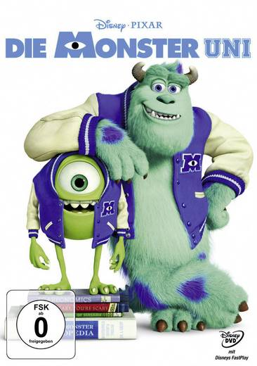 DVD Die Monster Uni FSK: 0