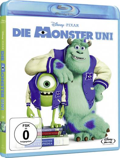 blu-ray Die Monster Uni FSK: 0