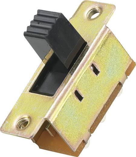 Schiebeschalter 2 x Ein/Aus/Ein MS-333 1 St.