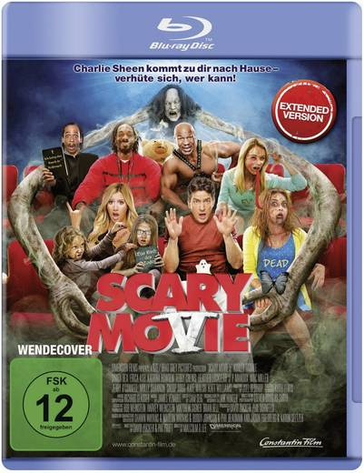 blu-ray Scary Movie 5 FSK: 12