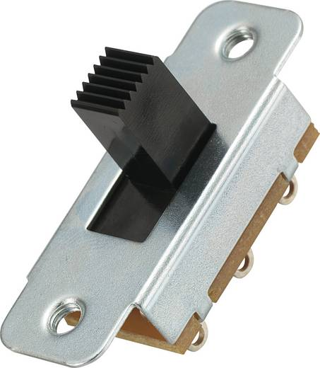 Schiebeschalter 2 x Ein/Aus/Ein MS-334 1 St.