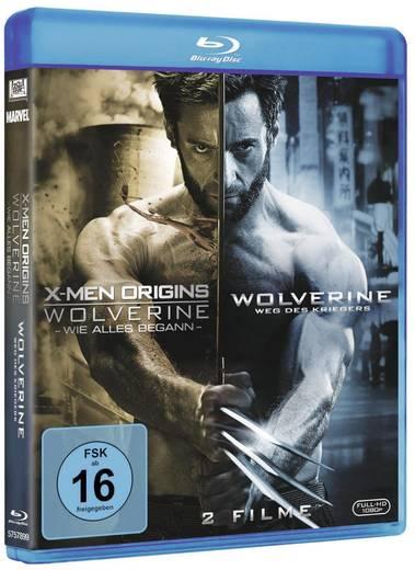 blu-ray X-Men Origins: Wolverine + Wolverine - Weg des Kriegers FSK: 16