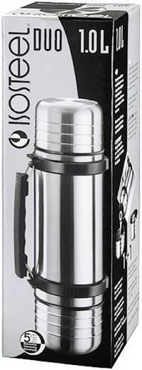 Thermoflasche Isosteel VA-9562DQ Edelstahl (glänzend) 1 l VA-9562DQ
