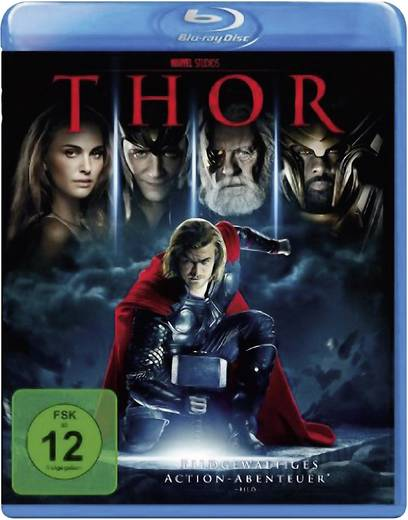 blu-ray Thor Action, Abenteuer FSK: 12