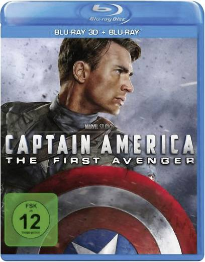 blu-ray 3D Captain America: The First Avenger (+2D Blu-ray) FSK: 12
