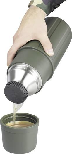 Thermoflasche Isosteel Vakuumflasche X-line 1L, oliv Oliv 1 l VA-9810P
