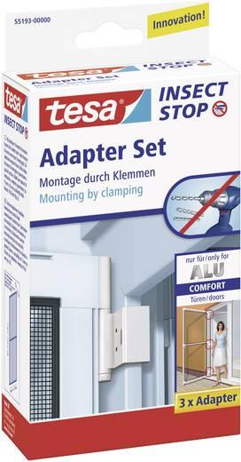 Fliegengitter Adapter-Set tesa Adapter Alu Comfort 55193-00 Passend für Marke Tesa Fliegengitter 3 St.