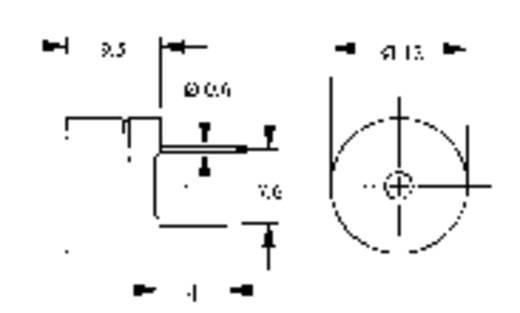 Signalgeber Geräusch-Entwicklung: 85 dB Spannung: 12 V Dauerton AL-60SP12 1 St.