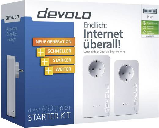 Devolo DP dLAN 650 triple+ Starter Kit