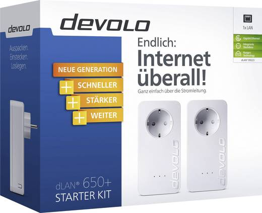 Powerline Starter Kit 600 MBit/s Devolo