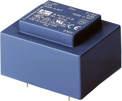 Printtransformator 1 x 230 V 2 x 8 V/AC 0.50 VA 31 mA VBEI 0,5/2/8 Block