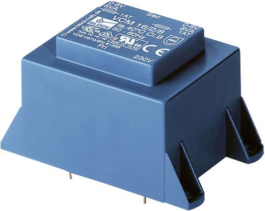 Printtransformator 1 x 230 V 2 x 15 V/AC 16 VA 533 mA VCM 16/2/15 Block