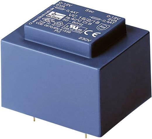 Printtransformator 1 x 230 V 2 x 9 V 16 VA 888 mA VC 16/2/9 Block