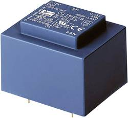 Transformátor do DPS Block EI 48/16,8, 230 V/2x 24 V, 2 x 208 mA, 10 VA