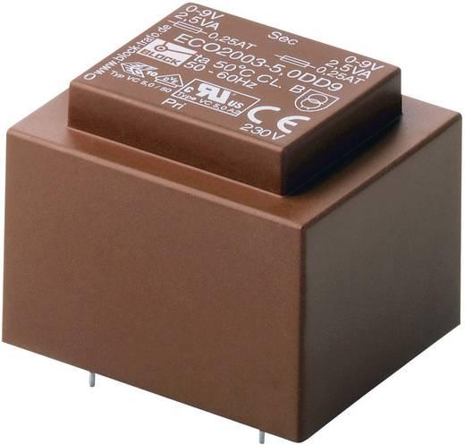 Block ECO2003-5,0S12 Printtransformator 1 x 230 V 1 x 12 V/AC 5 VA 416 mA