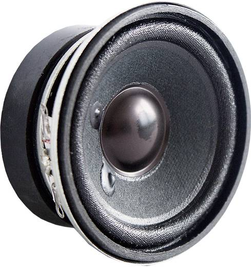 Miniatur Lautsprecher Geräusch-Entwicklung: 84 dB 4 W Visaton 2212 1 St.