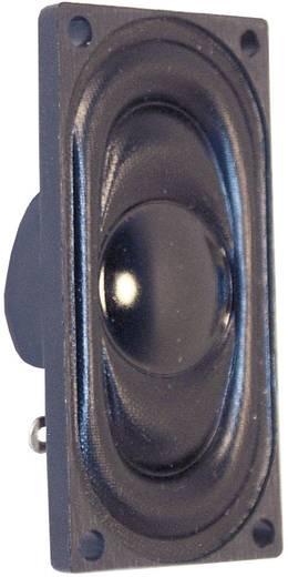 Miniaturlautsprecher, rechteckig Geräusch-Entwicklung: 76 dB 8 Ω Nennbelastbarkeit: 1 W 600 Hz Inhalt: 1 St.