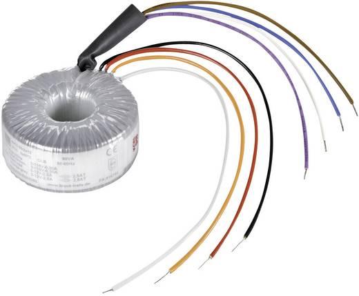 Ringkerntransformator 2 x 115 V 2 x 12 V/AC 20 VA 833 mA RKD 20/2x12 Block