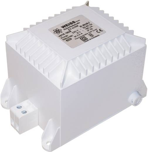 Weiss Elektrotechnik VSTR 100/12 Sicherheitstransformator 1 x 230 V 1 x 12 V/AC 100 VA 8.33 A