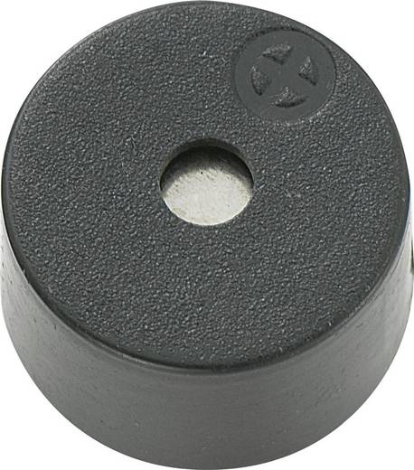 Piezo-Signalgeber Geräusch-Entwicklung: 85 dB Spannung: 12 V Dauerton KEPO KPX-G1212B-6401 1 St.