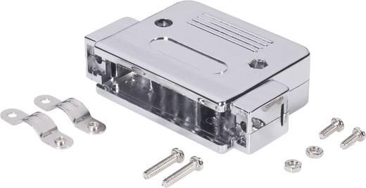 D-SUB Gehäuse Polzahl: 37 Kunststoff, metallisiert 180 ° Silber BKL Electronic 10120079 1 St.