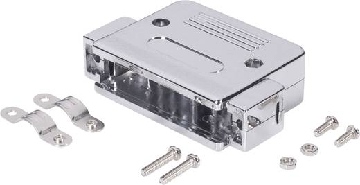 D-SUB Gehäuse Polzahl: 9 Kunststoff, metallisiert 180 ° Silber BKL Electronic 10120076 1 St.