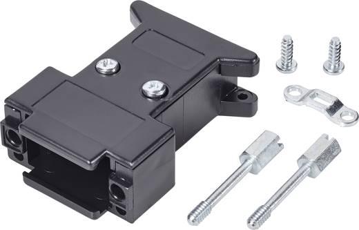 D-SUB Gehäuse Polzahl: 15 Kunststoff 180 ° Schwarz 1 St.