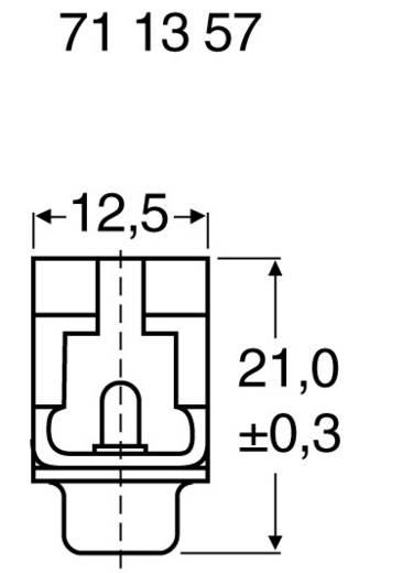 D-SUB Stiftleiste 180 ° Polzahl: 9 Schneid-Klemm ASSMANN WSW A-DSF 09 LPIII/Z 1 St.